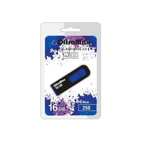 Фото - Флешка OltraMax 250 16GB blue флешка oltramax 240 16gb red