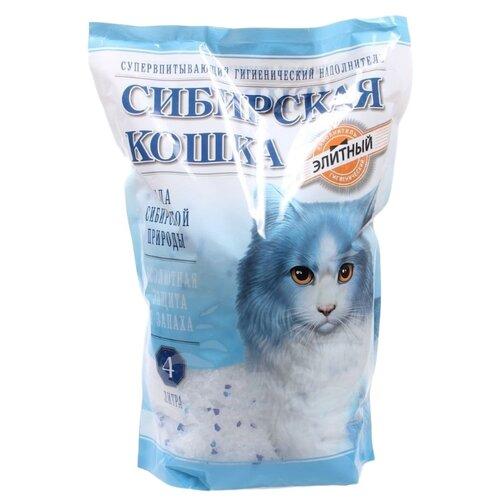 Наполнитель Сибирская кошка Элитный (4 л)Наполнители для кошачьих туалетов<br>