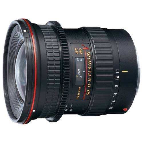 Объектив Tokina AT-X 11-16mm f/2.8 (AT-X 116) PRO DX V Canon EF-S Объективы