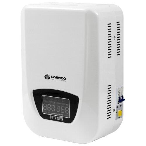 Стабилизатор напряжения однофазный Daewoo Power Products DW-TM12kVA стабилизатор напряжения daewoo dw tm2kva