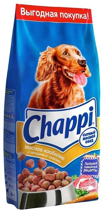 Chappi (15 кг) Сухой корм Мясное изобилие с овощами и травами
