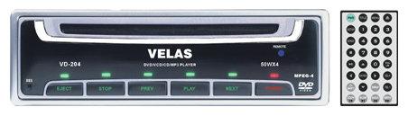 Автомагнитола Velas VD-204