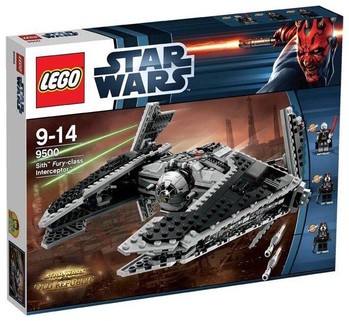 "Конструктор LEGO Star Wars 9500 Ситхский перехватчик класса ""Фурия"""