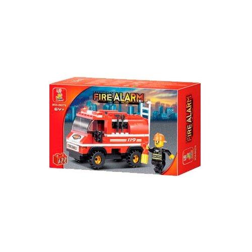 Купить Конструктор SLUBAN Пожарные спасатели M38-B3000, Конструкторы