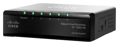 Cisco Коммутатор Cisco SF 100D-05