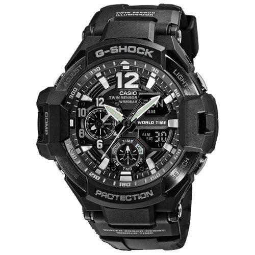 цена Наручные часы CASIO GA-1100-1A онлайн в 2017 году