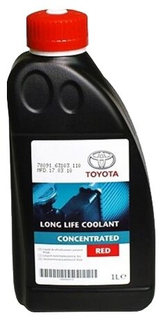 Антифриз TOYOTA Long Life Coolant Concentrated,