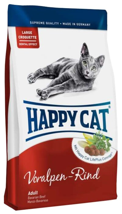 Happy Cat Supreme Voralpen Rind (4 кг)