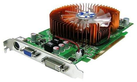Chaintech GeForce 9600 GT 650Mhz PCI-E 2.0 1024Mb 1400Mhz 256 bit DVI TV HDCP