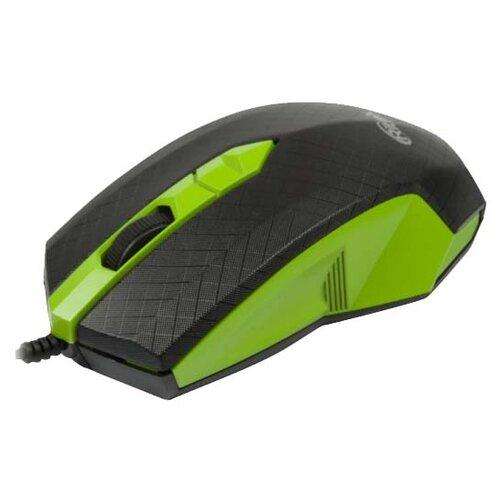 Мышь Ritmix ROM-202 Black-Green USB зеленый мышь ritmix rom 111 black grey usb серый