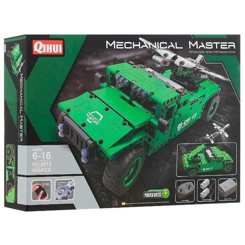 Купить Электромеханический конструктор QiHui Mechanical Master 8013 Носитель БПЛА, Конструкторы