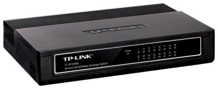 TP-LINK Коммутатор TP-LINK TL-SF1016D