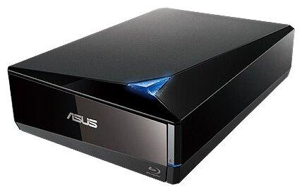 Внешний оптический накопитель BD-W ASUS BW-12D1S-U/BLK/G/AS Black, USB 3.0