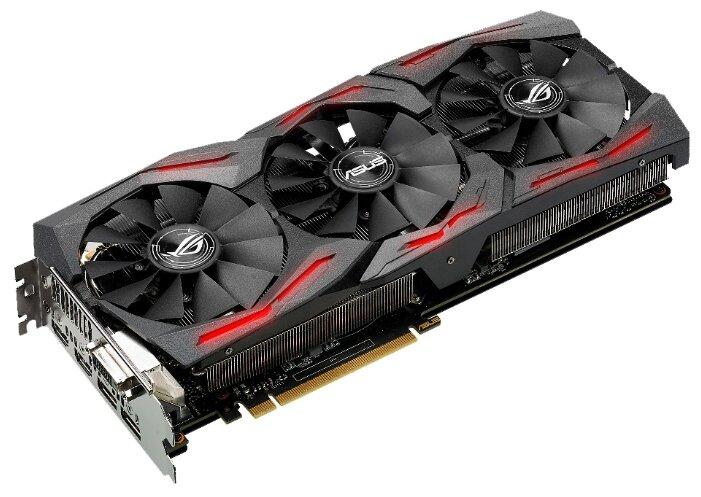 ASUS GeForce GTX 1080 1784Mhz PCI-E 3.0 8192Mb 10010Mhz 256 bit DVI 2xHDMI HDCP