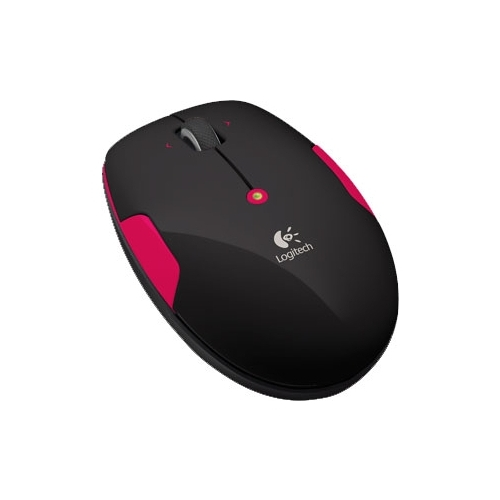 Мышь Logitech Wireless Mouse M345 Black-Pink USB