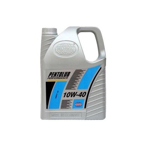 Полусинтетическое моторное масло Pentosin Pentolub Performance 10W-40, 5 л