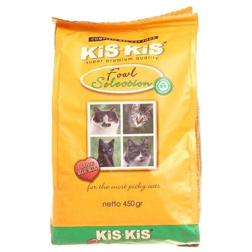 Корм для кошек Kis-kis с птицей 450 г набор декоративный kis kis mp002xu02iz1