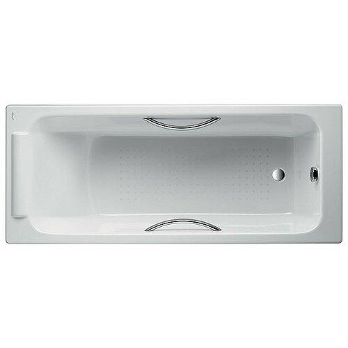 цены Ванна Jacob Delafon Parallel 170x70 с отверстиями для ручек Е2948 чугун левосторонняя/правосторонняя