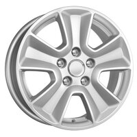Литой диск КиК КС672 (Kia Ceed) 6.5x16 5x114.3 ET50.0 D67.1 серебро