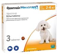 Фронтлайн (Merial) НексгарД для собак весом 2–4 кг