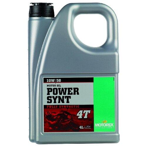 Фото - Синтетическое моторное масло Motorex Power Synt 4T 10W-50 4 л синтетическое моторное масло motorex power synt 4t 5w 40 4 л