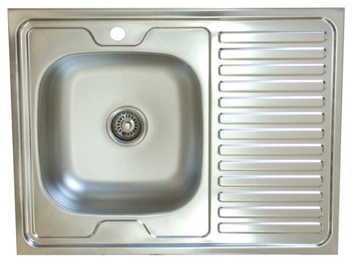 Накладная кухонная мойка Владикс V-401