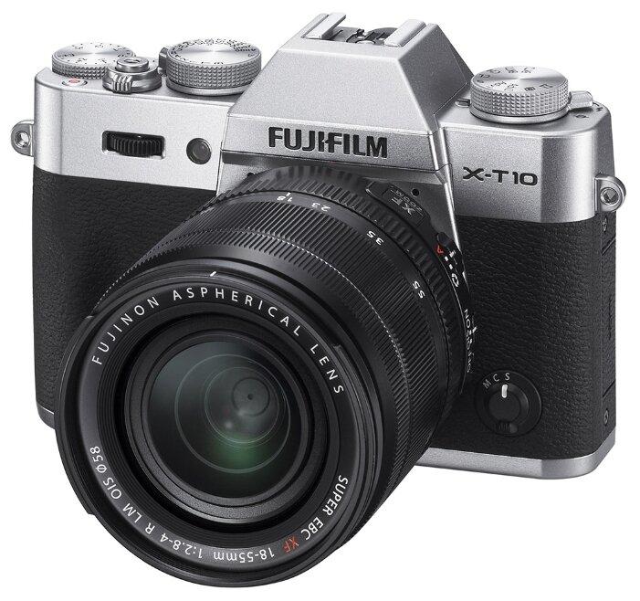 Fujifilm Фотоаппарат со сменной оптикой Fujifilm X-T10 Kit