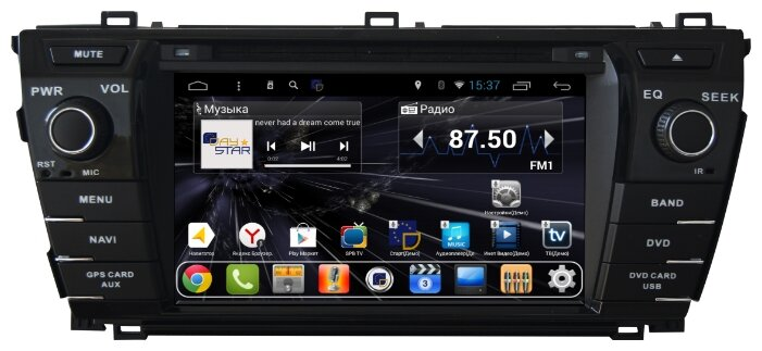 Daystar DS-7110HD Toyota Corolla 2013 ANDROID