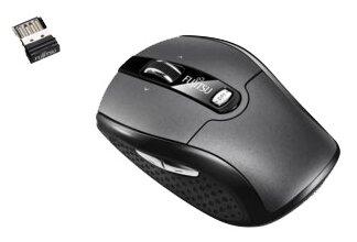 Мышь Fujitsu-Siemens Wireless Notebook Mouse WI610 Grey-Black USB
