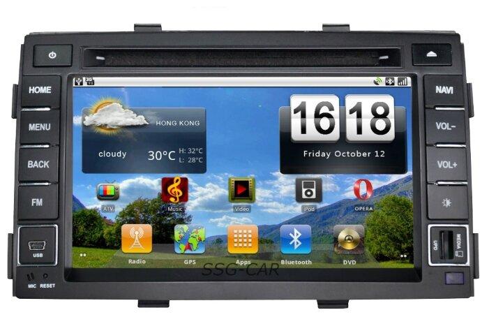 SIDGE Kia SORENTO (2009-2012) Android 2.3