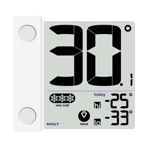Термометр RST 01291 белый