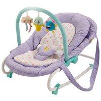 Шезлонг Happy Baby Nesty violet
