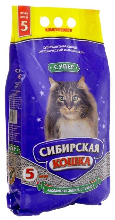 Наполнитель Сибирская кошка Супер (5 л)