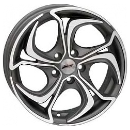 Колесный диск RS Wheels 586J 7x16/4x114.3 D67.1 ET46 MG