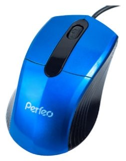 Мышь Perfeo PF-203-OP Blue USB