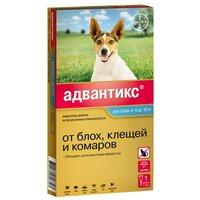Bayer Advantix (Байер Адвантикс) - Капли для Собак (1 пипетка) (от 4 до 10 кг)