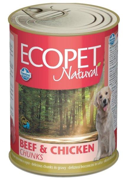 Корм для собак Farmina Ecopet говядина, курица 1.25 кг