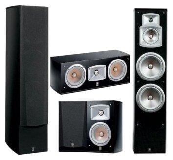 Комплекты акустики Yamaha NS-555 5.0 black