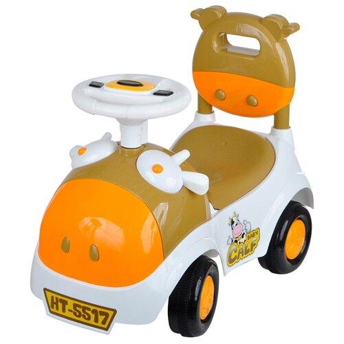 Каталка-толокар Toysmax Baby Calf (5517-1) со звуковыми эффектами оранжевыйКаталки и качалки<br>