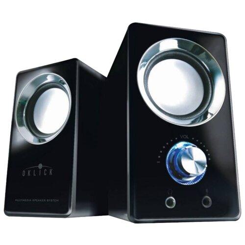Купить Компьютерная акустика Oklick OK-116 черный
