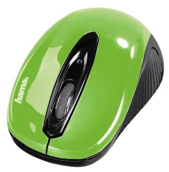 Мышь HAMA AM-7300 Green USB