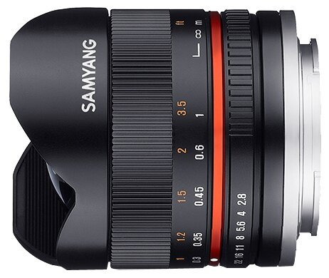 Samyang Объектив Samyang 8mm f/2.8 UMC Fish-eye II Fujifilm XF