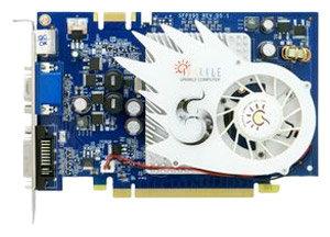 Sparkle GeForce 9500 GT 550Mhz PCI-E 2.0 512Mb 800Mhz 128 bit DVI TV HDCP YPrPb
