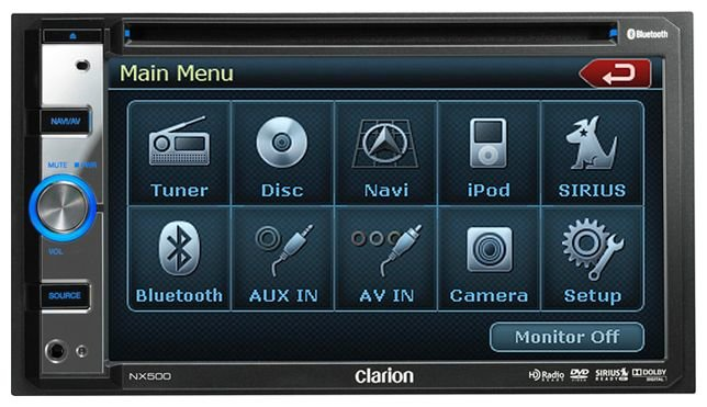Автомагнитола Clarion NX500