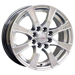 Колесные диски Racing Wheels H-476 6x14/4x98 D58.6 ET38 Silver