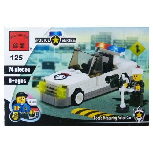 Купить Конструктор Qman Police 125 Полицейская машина, Конструкторы