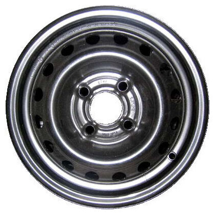 Диск MAGNETTO WHEELS 15001 S AM 6x15/4x100 D60 ET50 Silver
