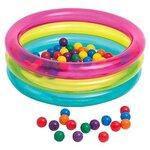 Детский бассейн Intex Classic Three Ring Baby Ball Pit 48674