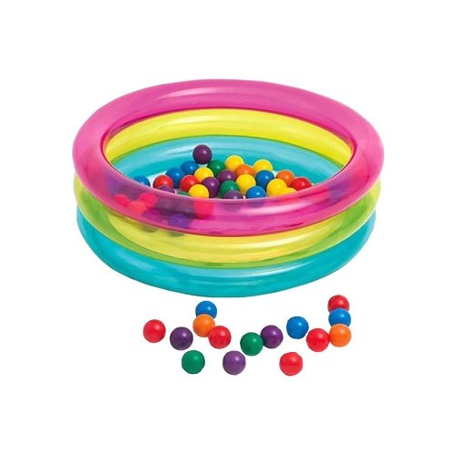 Детский бассейн Intex Classic Three Ring Baby Ball Pit 48674