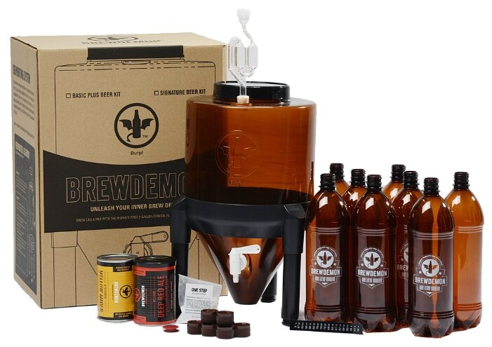 Мини-пивоварня BrewDemon Basic Plus,